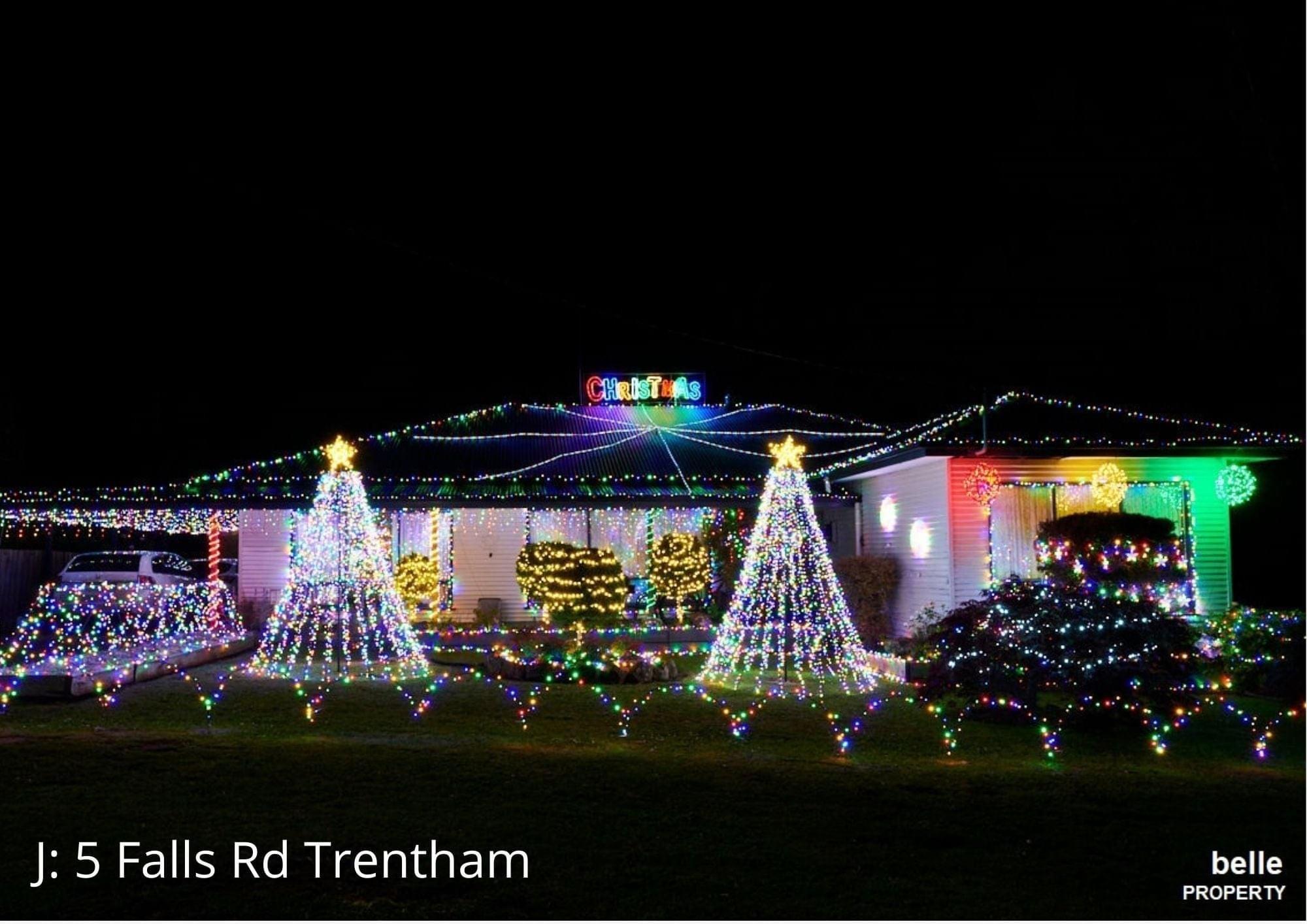 Lighting up Trentham